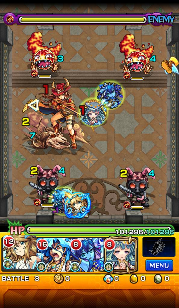 覇者の塔 21階 ステージ3