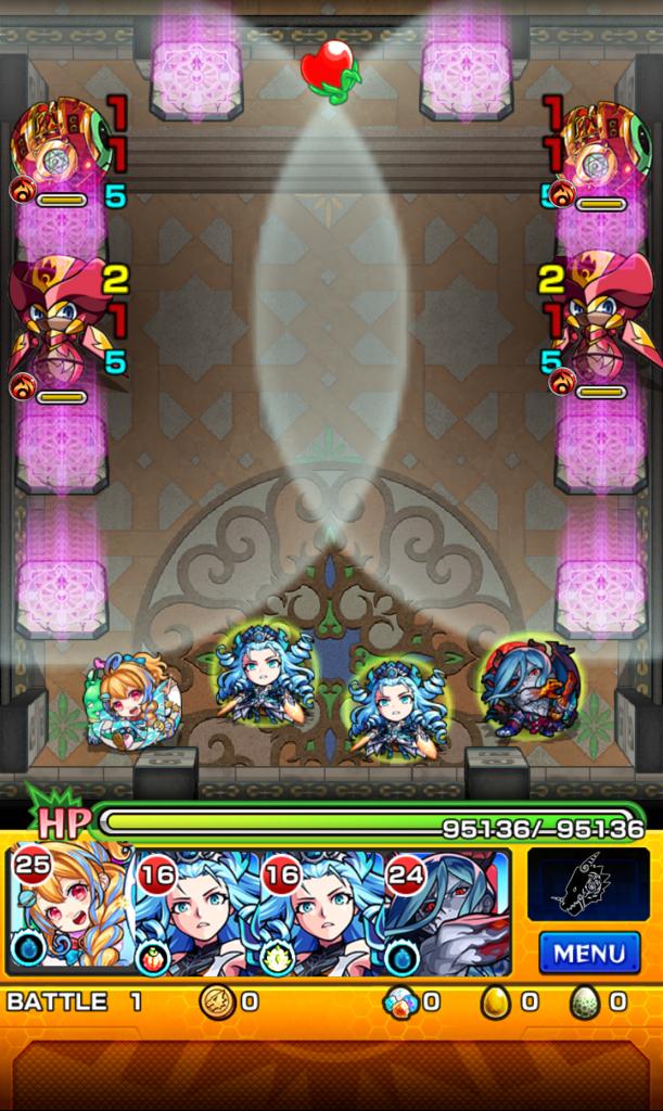 覇者の塔 31階 ステージ1