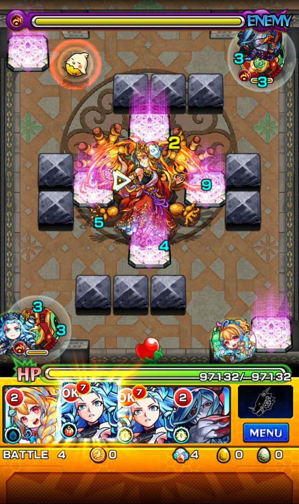 覇者の塔 31階 ステージ4
