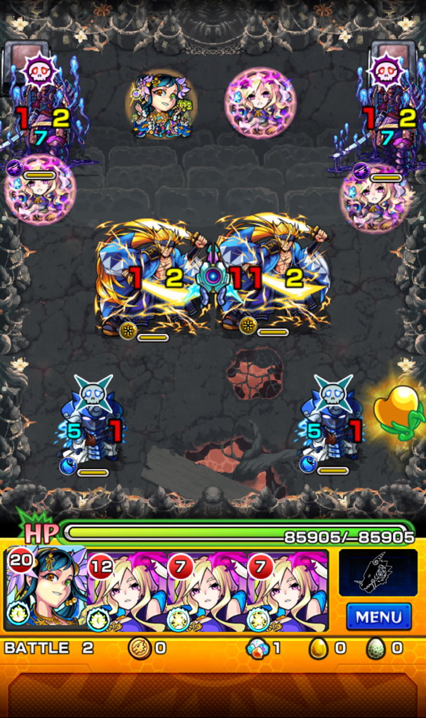 二ノ獄 蒼烈の武者軍 ステージ2