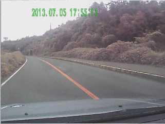 GSK社ドライブレコーダーによる撮影風景の静止画