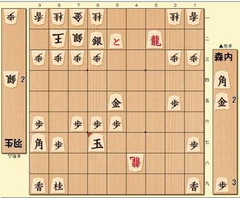 将棋第69期名人戦七番勝負第3局の投了図