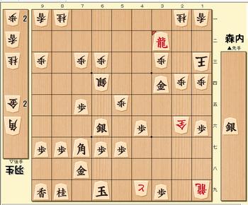 将棋第70期名人戦七番勝負第5局の投了図