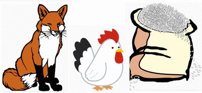 狐と鶏と穀物