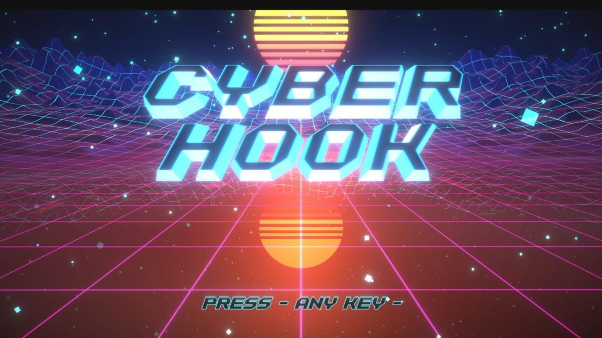 steam新作ゲームcyber hookのOP