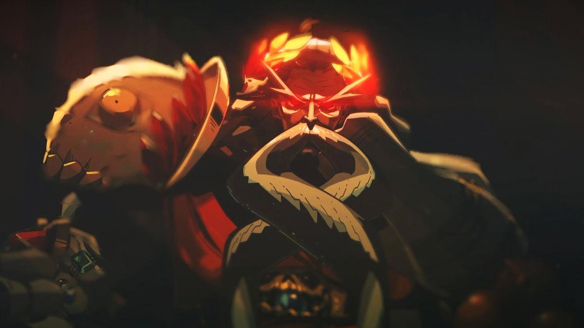 SteamのゲームHadesのハデスの顔の画像