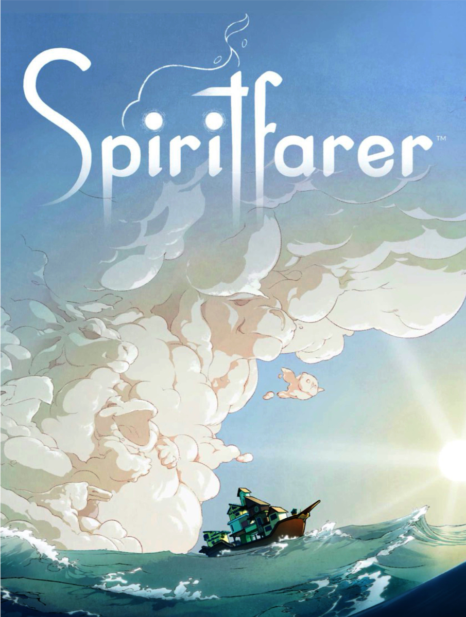 Stram人気ゲームのSpiritfarerの表紙画像