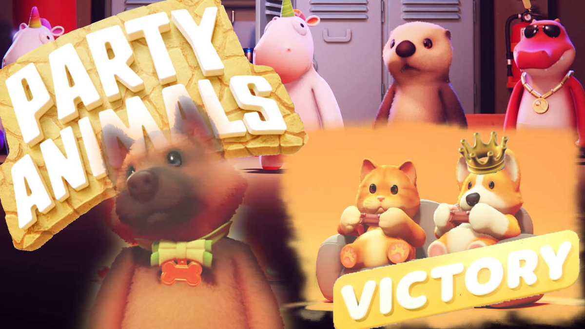 SteamゲームのPartyAnimalsの画像