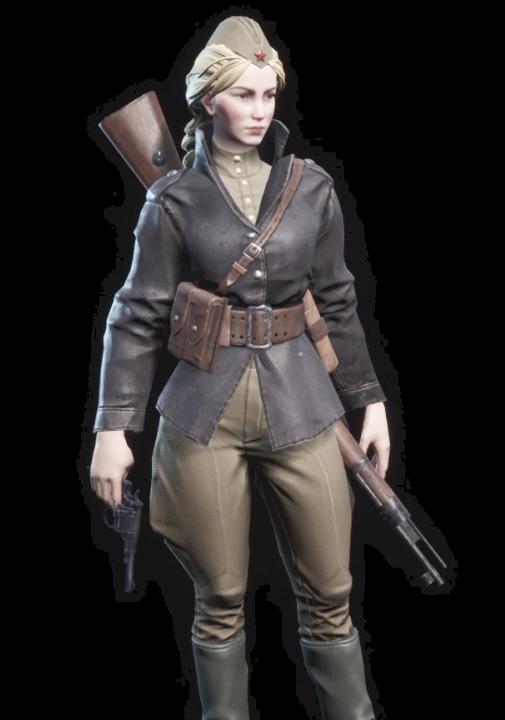 partisans1941パルチサンズ1941の登場人物のベロゼロワの画像