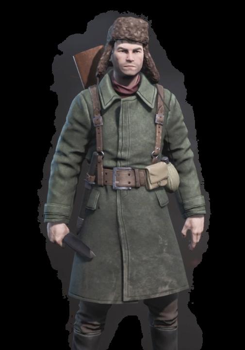 partisans1941パルチサンズ1941の登場人物のモロゾフの画像