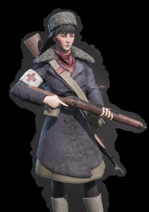 partisans1941パルチサンズ1941の登場人物のヴァリャの画像