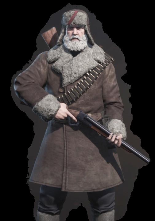 partisans1941パルチサンズ1941の登場人物のトロフィムの画像