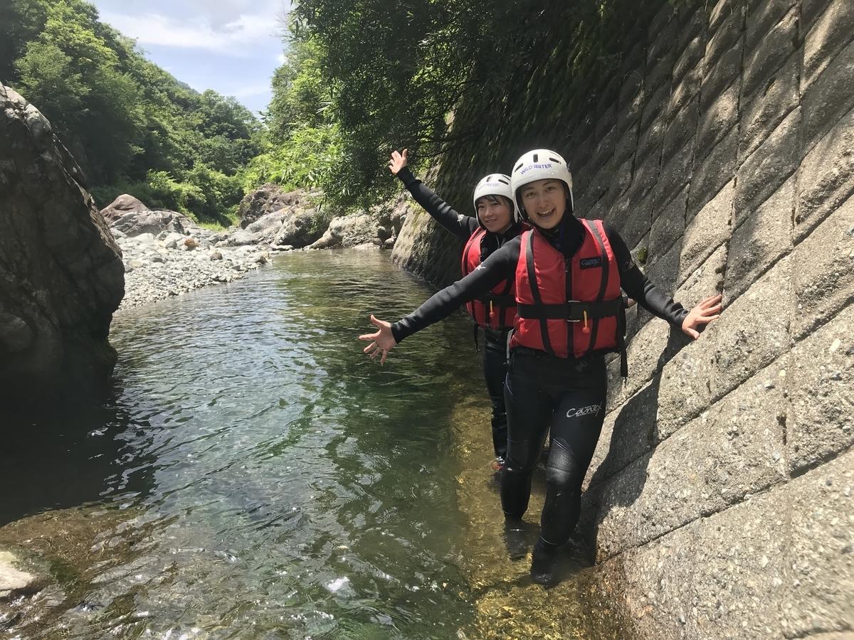 ぐいぐい川を登る