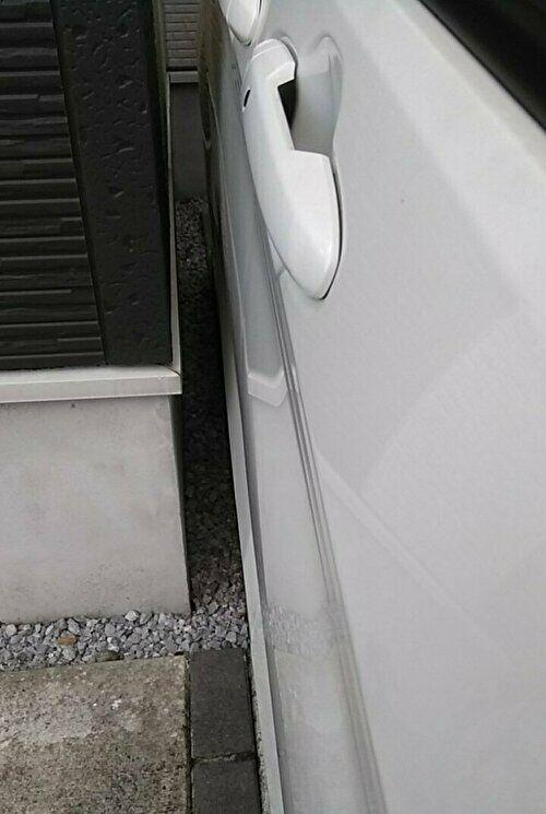 我が家に駐車した時の様子