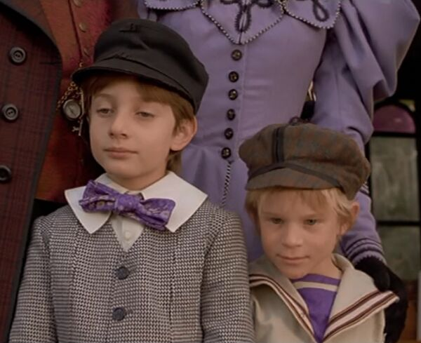 ドクの2人の息子、ジュールとベルヌ