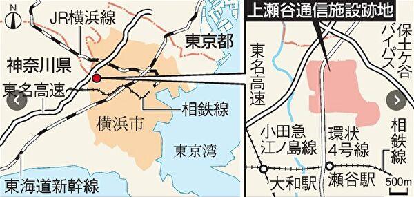 大型テーマパークが建設地横浜市瀬谷区のどの辺でどのくらいの広さ?