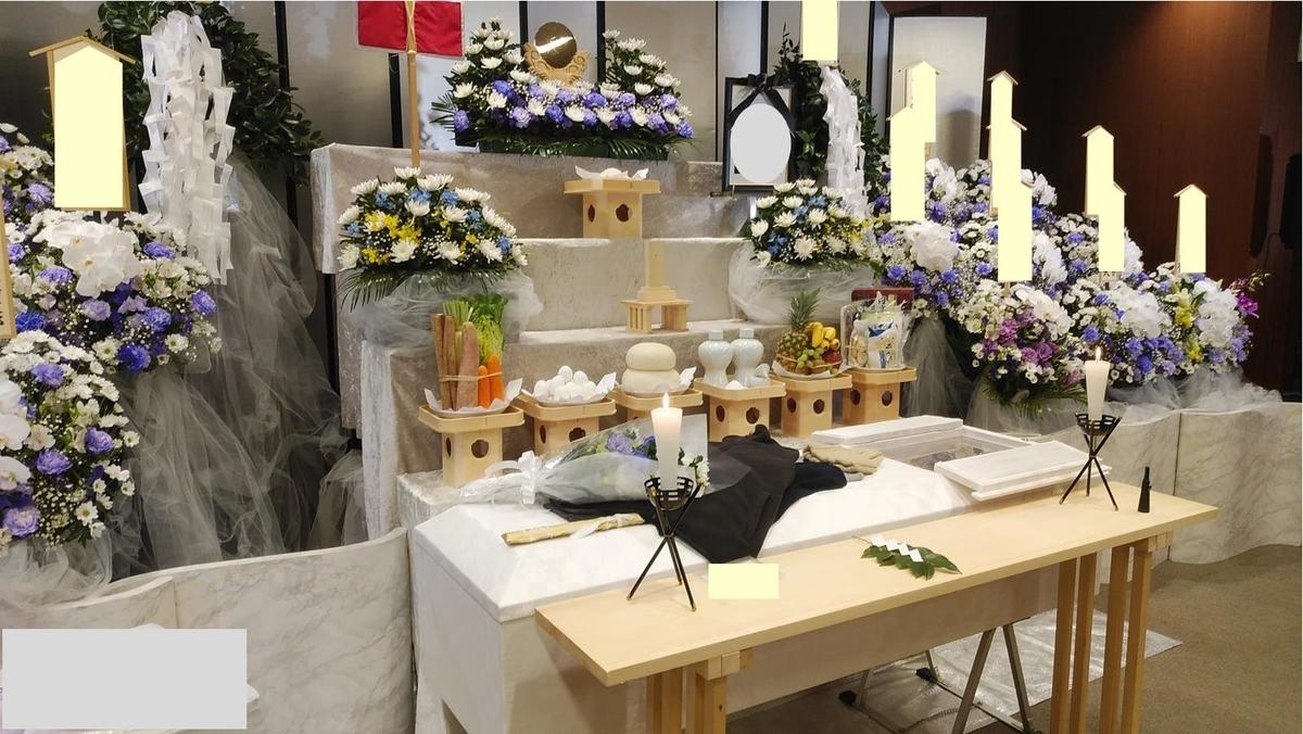 所沢市斎場でのご葬儀 神葬祭