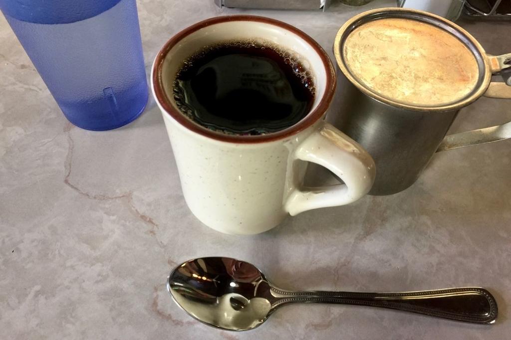 ギャラクシーダイナーのコーヒー