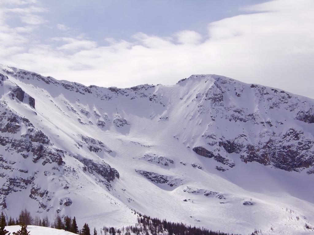 カナディアンロッキーのや雪山