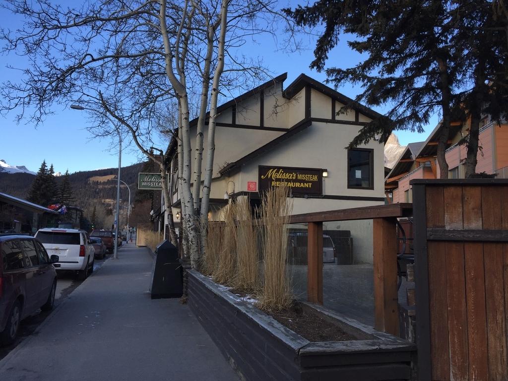カナダとバンフの歴史に名を刻むレストランメリッサ