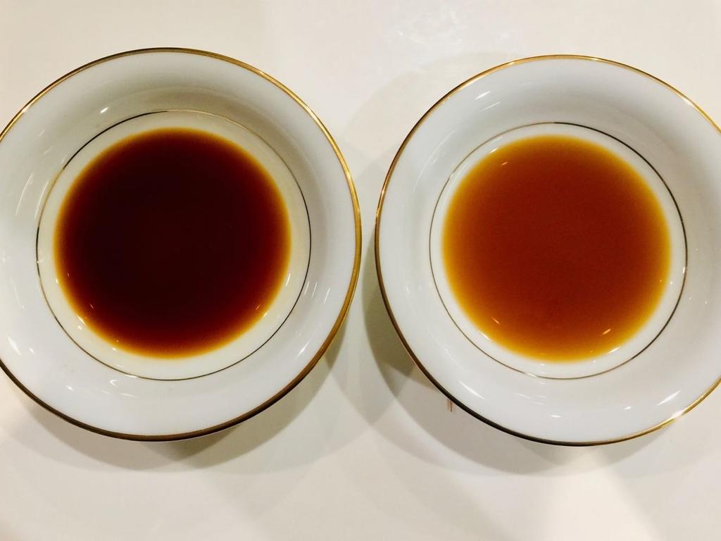 濃口醤油と薄口醤油の基本的な違い