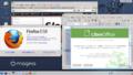 [Mageia][KDE4][64bit] Mageia 3 RC LiveDVD KDE 64bit ブラウザ…FirefoxESR-17.05 表計算…LibreOffice-4.0.2.2
