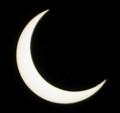 [金環日食][PENTAX][K20D]三日月みたいになってきた