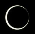 [金環日食][PENTAX][K20D]金環になったところ