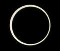 [金環日食][PENTAX][K20D]金環ど真ん中?