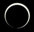 [金環日食][PENTAX][K20D]金環の輪が切れてきている