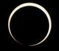 [金環日食][PENTAX][K20D]金環の輪が完全に切れた