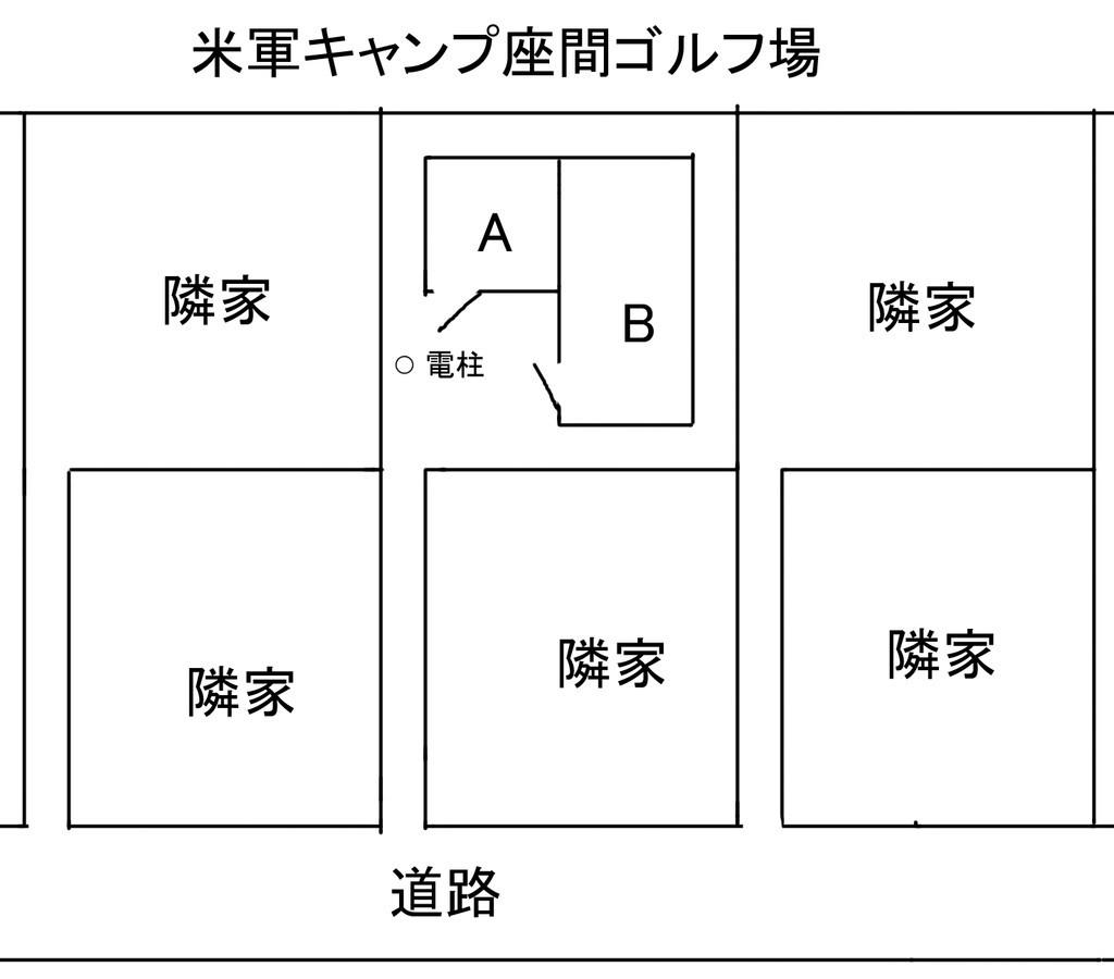 新居の概略図
