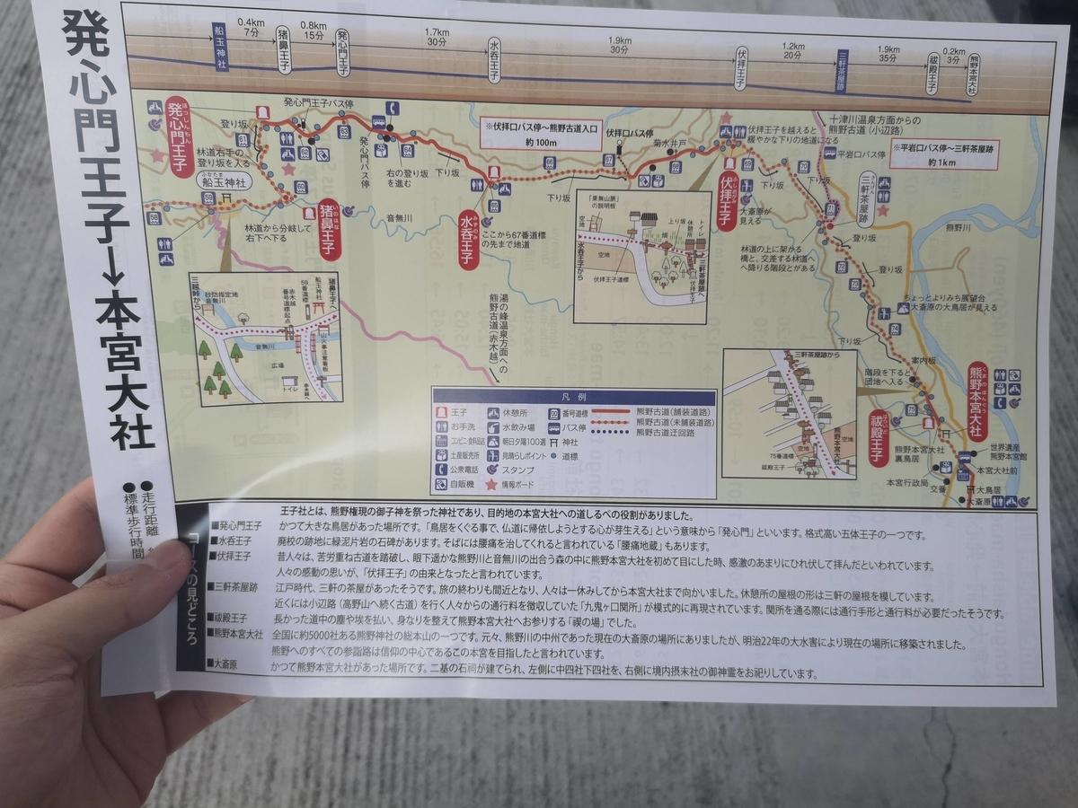 発心門王子 熊野本宮大社 中辺路 ルート 熊野古道
