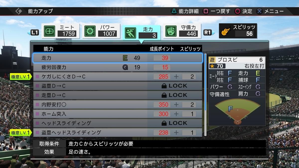 甲子園スピリッツ 練習チャレンジ 攻略