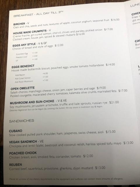 オークランドカフェ