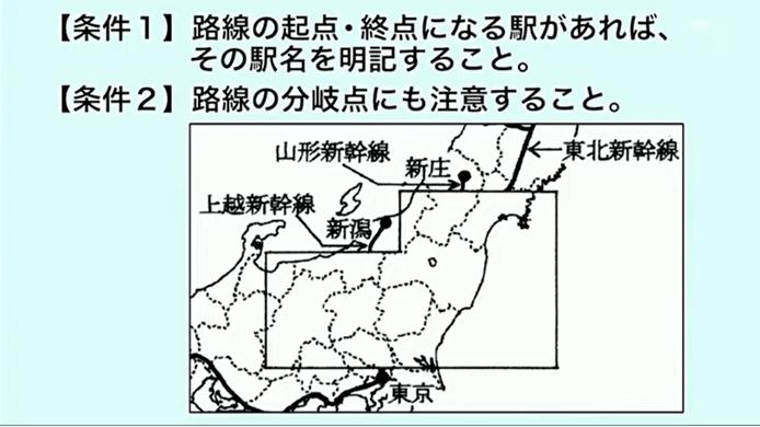 2010年渋幕、新幹線の路線図