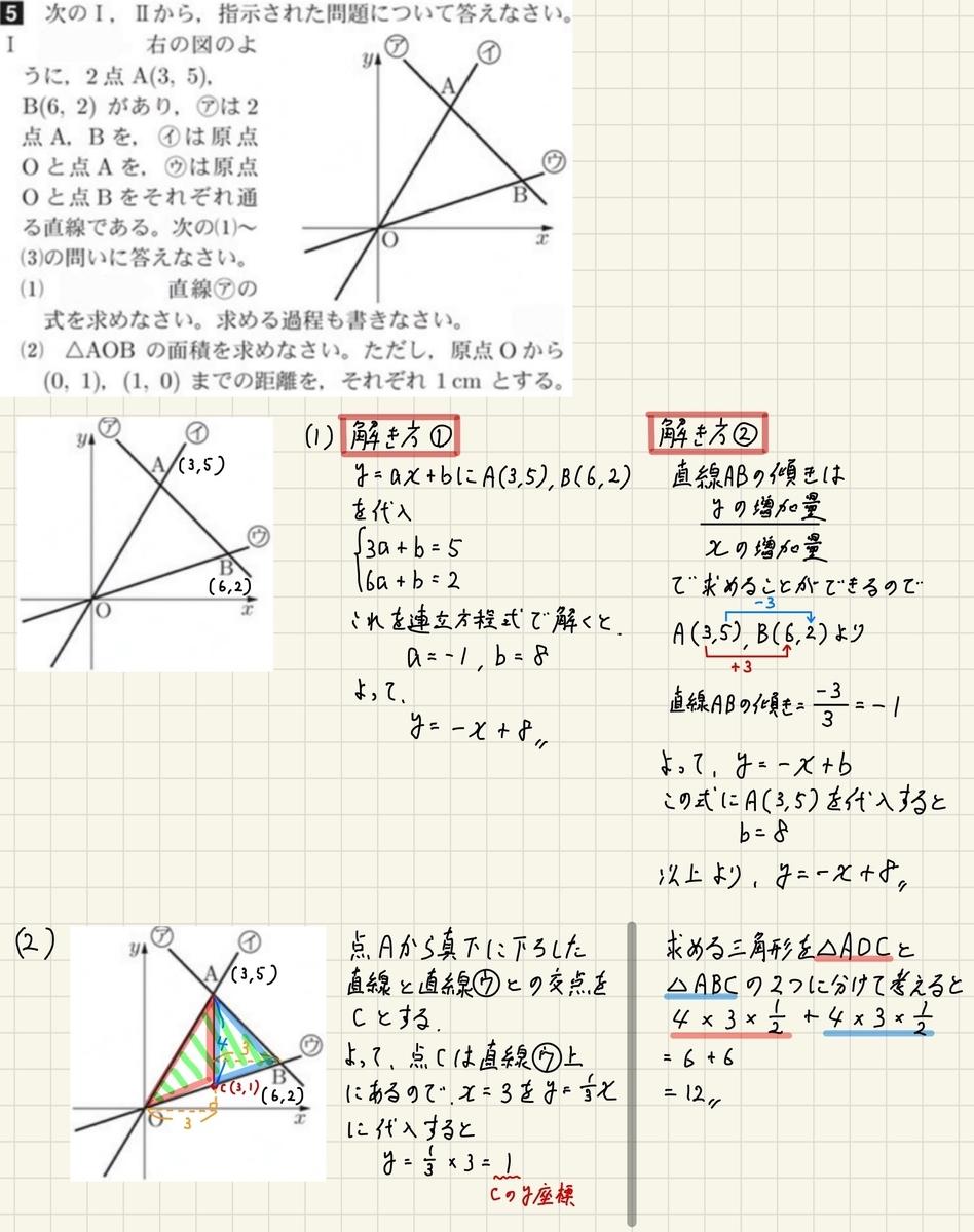 2018秋田5_Ⅰ-1