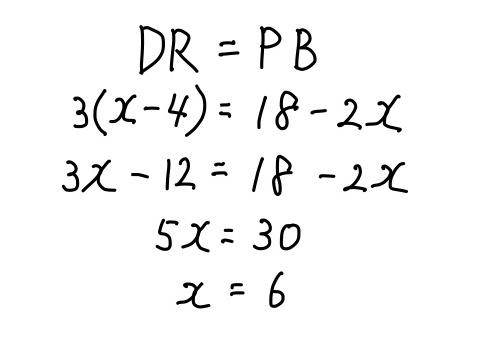 方程式の計算過程