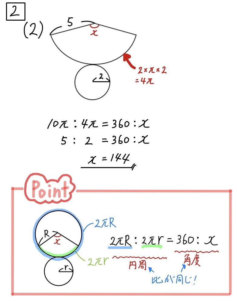 2020静岡数学2−2