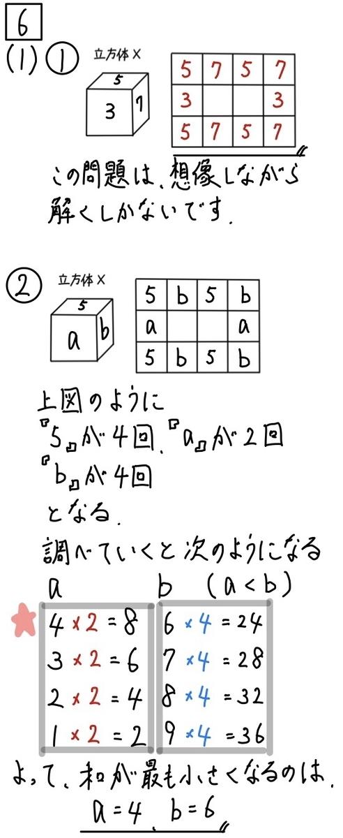 2020兵庫公立数学6−1