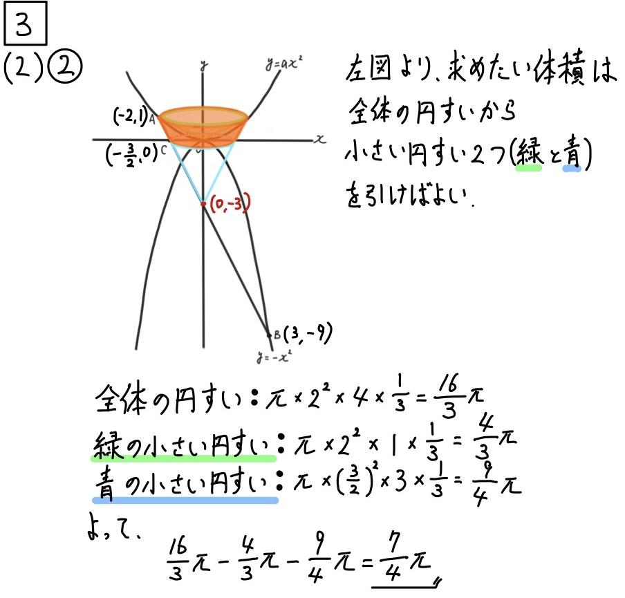 2020千葉公立数学3−3