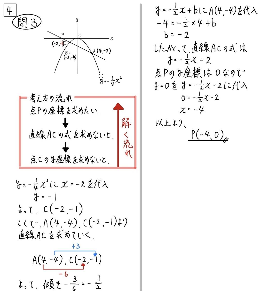 2020和歌山公立数学4−3