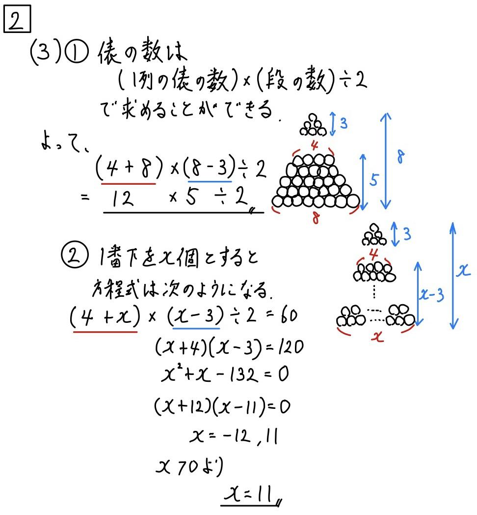 2020長野公立数学2−3