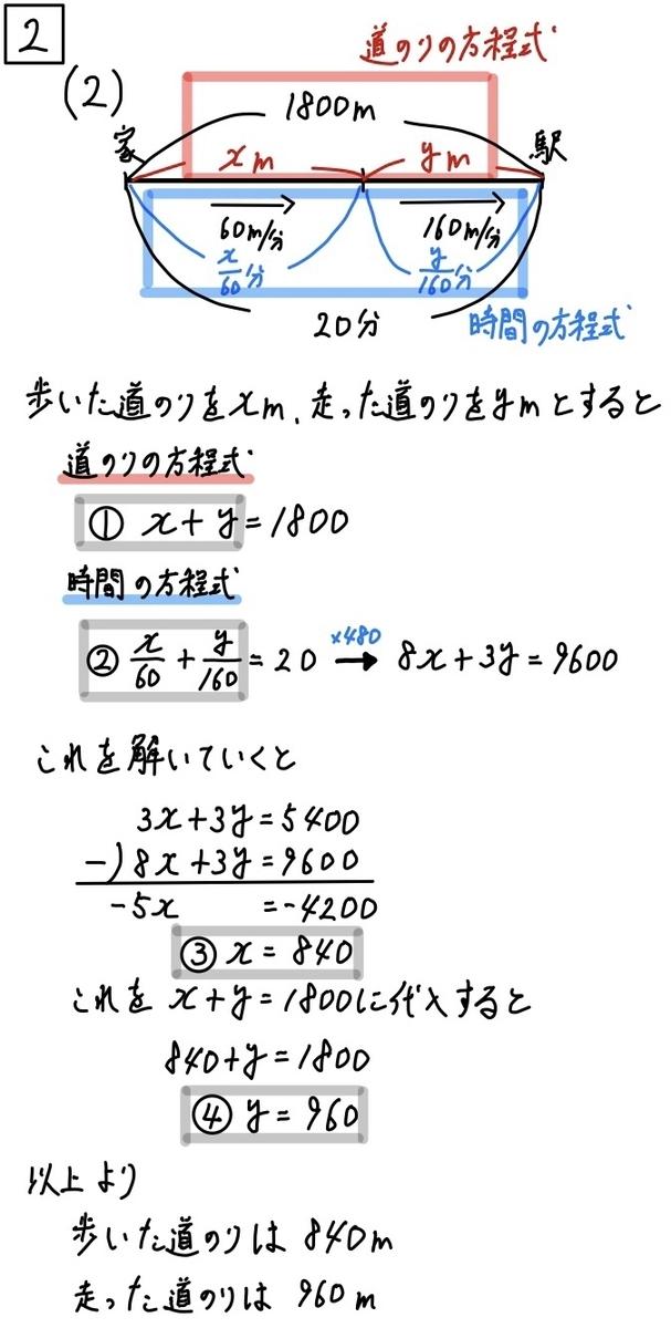2020三重公立数学2-2