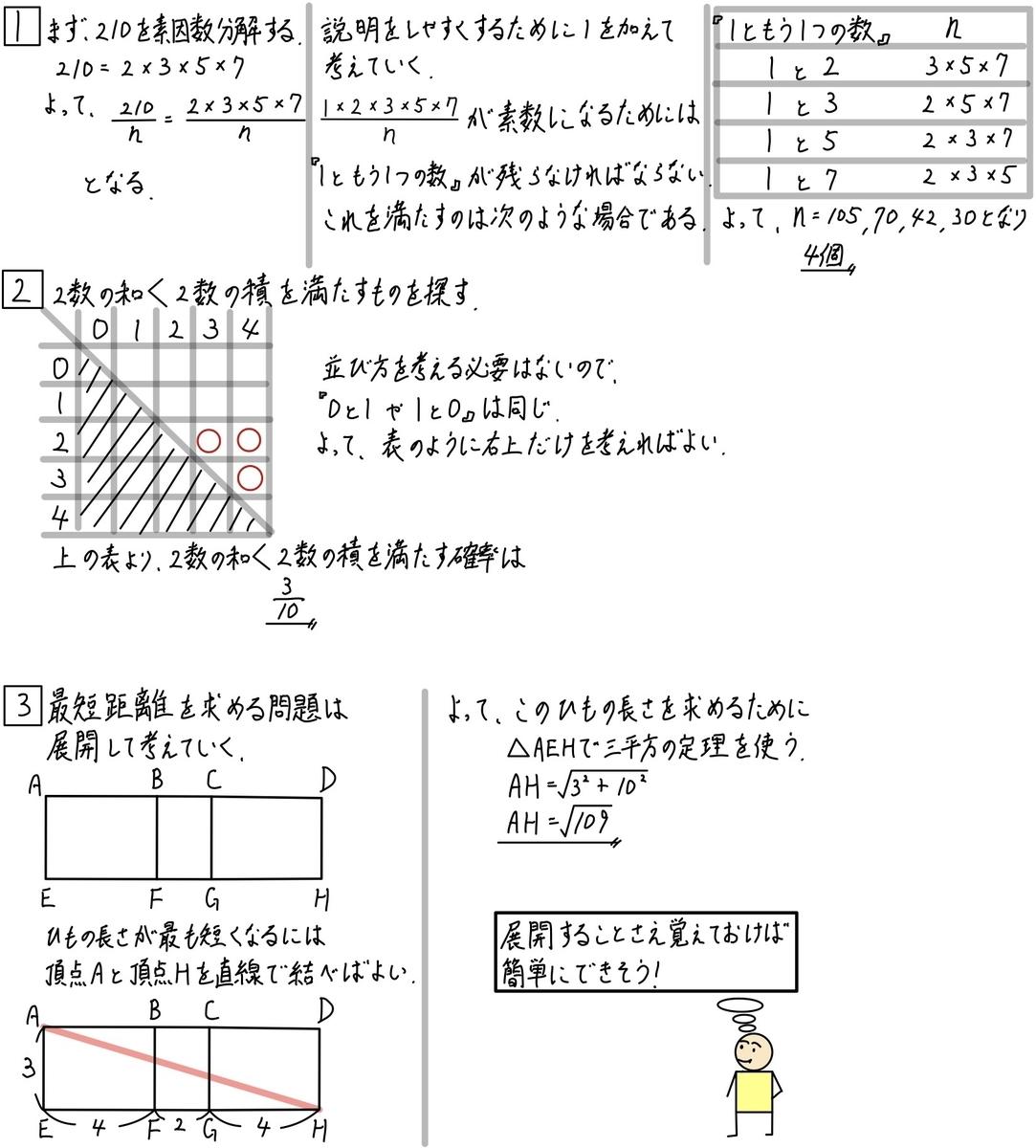 偏差値50突破への道No.14