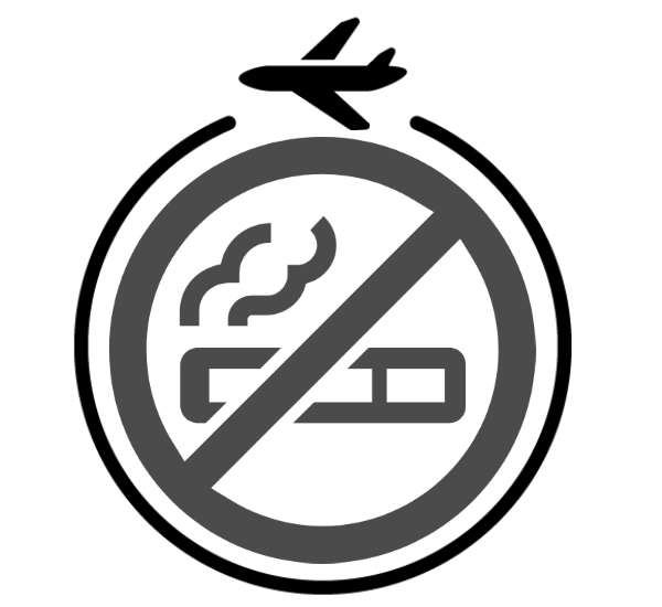 飛行機&タバコ