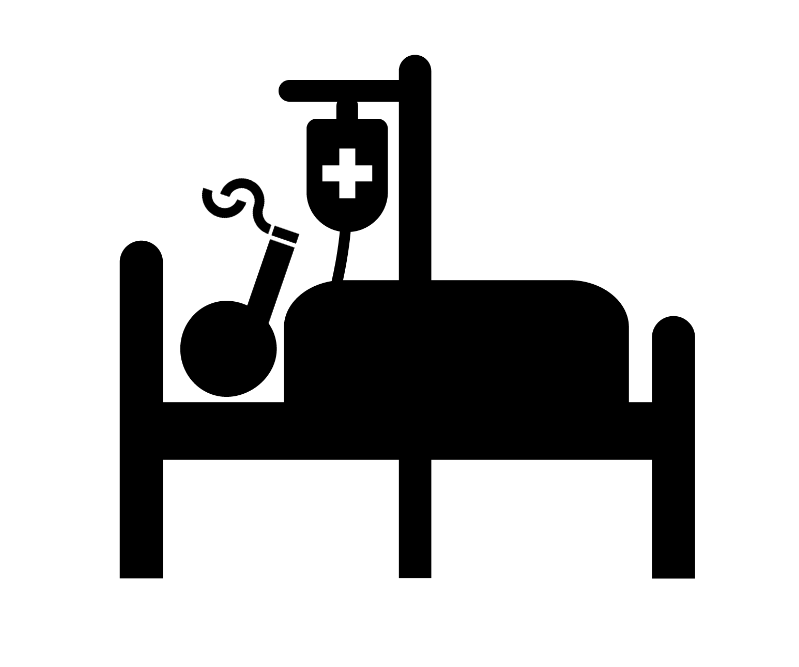 Sick smoker
