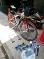 【2011/7/9】 自転車整備