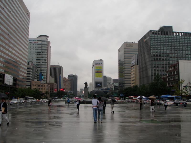 【2011/7/15】 ソウル市内メイン通り①