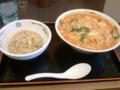 【2012/1/29】 チゲ味噌ラーメン+半チャン